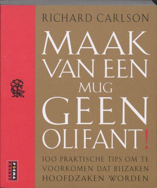 boek-omslag-mug-geen-olifant-richard-carlson